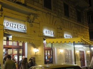 Bella Napoli takes up three storefronts.