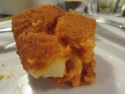 Mandatory suppli, oozey cheese but probably not housemade.