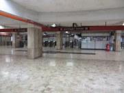 Empty Metro station is kind of eerie.