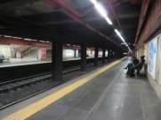 We are beyond the crowds.... The Metro was almost empty on the way home.