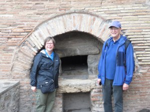 Closest thing I could come to a pizza picture on this trip: an ancient oven at Pompeii. Looks a lot like the ones we see all over Roma.