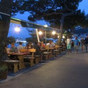 On a lovely, soft, island evening, it was a perfect place to eat the perfect food.