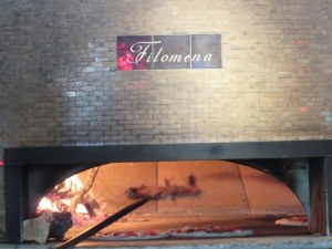 Filomena is one of two ovens named for the owner's great-grandparents. the other is Pietro.