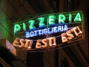 Pizzeria Fratelli Ricci, AKA Est! Est! Est!