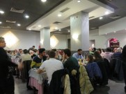 Large dining room, yet it is wise to reserve. There was a waiting line by 20:30.