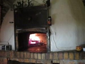 Wood-fired oven gave us false hope.