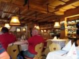 La Tambra interior, Tyrolean warmth all around.