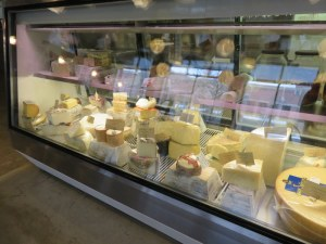 Say formaggio! Too bad about the reflections but trust me, the cheese selections are awesome.
